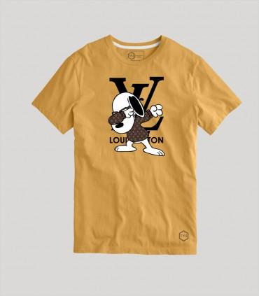 Camiseta TYS Fake Loui Vuitton Snoopy Dab Dance
