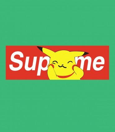 Camiseta TYS manga corta Pikachu supreme anime