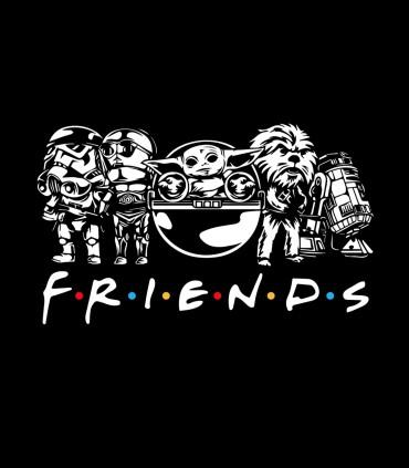 Camiseta Space Friends